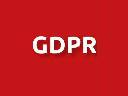 GDPR και χρήσιμες πληροφορίες για τον χώρο σου.