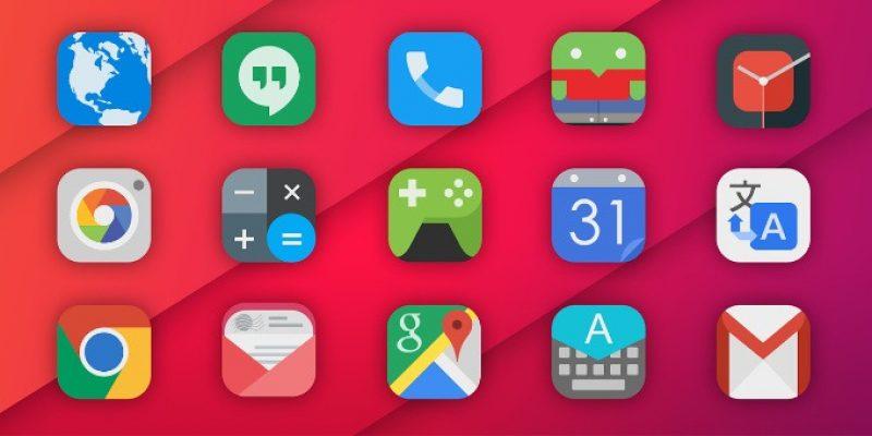 5 πανέμορφα σετ εικονιδίων για το Android σας.